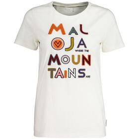 Maloja BiascaM. T-Shirt Femme, vintage white
